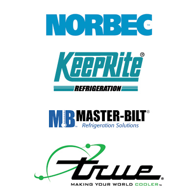 some of the brands we carry, Scotsman, Manitowoc, Habco, Beverage-Air